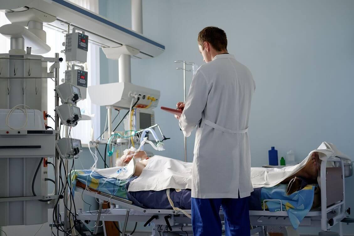 重症病人醫院治療